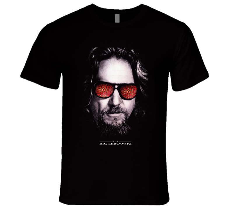 The Big Lebowski Goodman Bridges The Dude Comedy Movie T Shirt