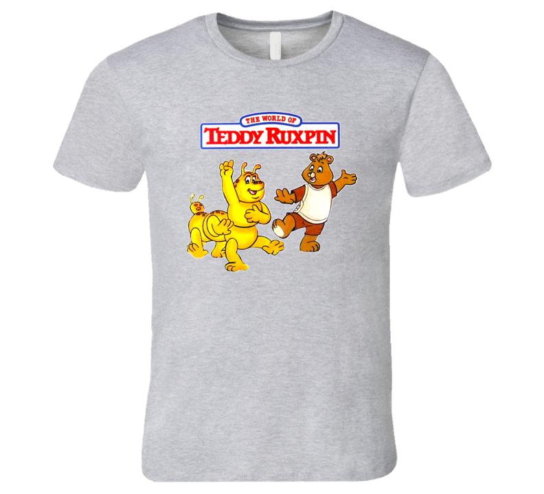 Teddy Ruxpin 80's Kids Cartoon Retro Tv Show T Shirt