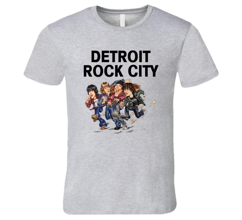 Detroit Rock City Retro 90's Comedy Movie T Shirt