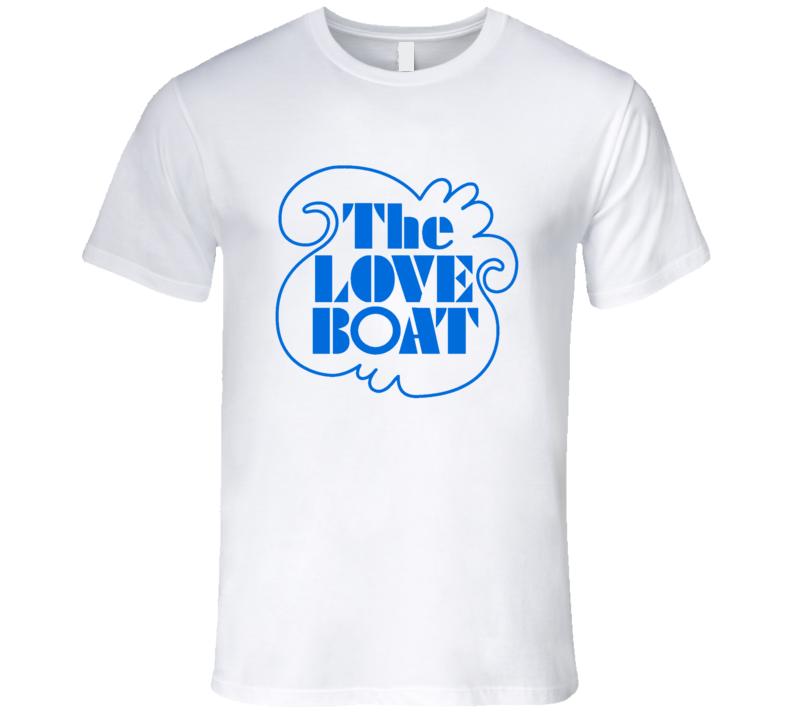 The Love Boat Classic Retro Tv Show Logo T Shirt