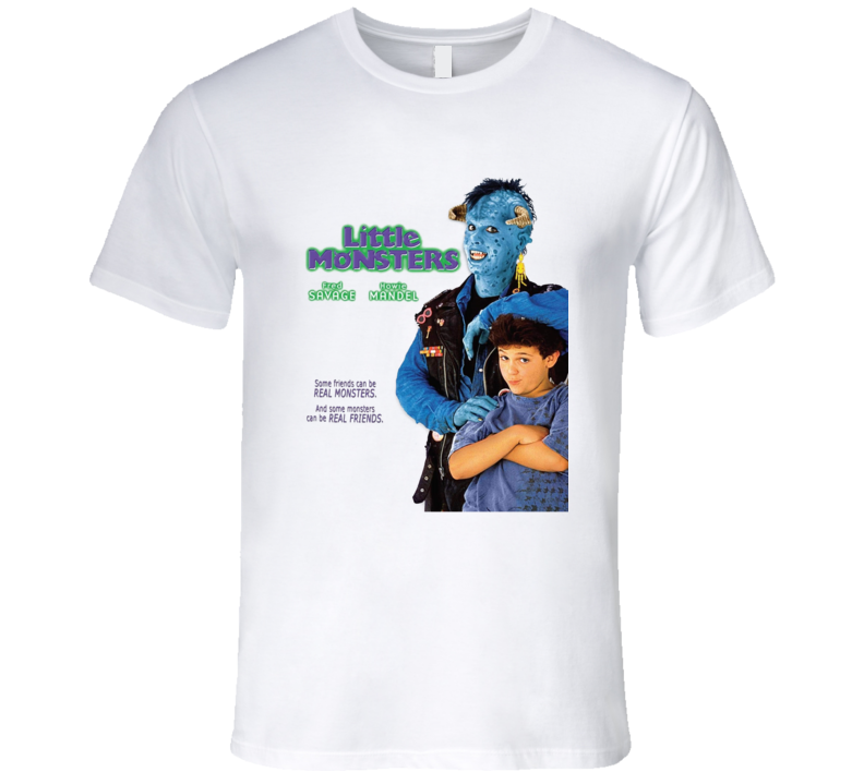 Little Monsters Fred Savage Retro Family Kids 80's Comedy Movie T Shirt
