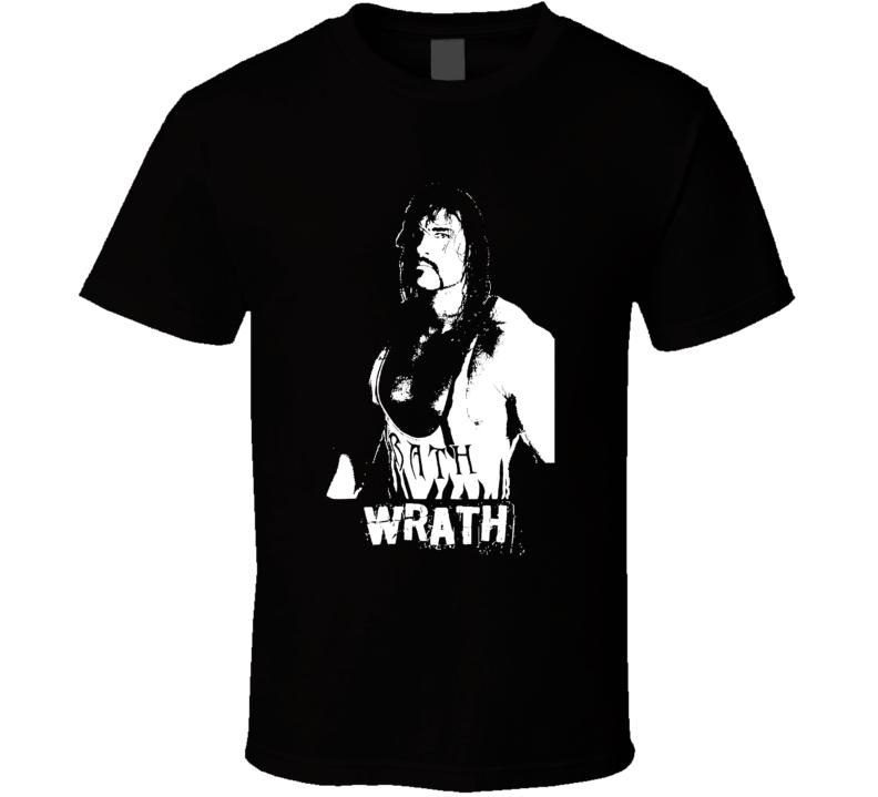 Wrath Bryan Clark Retro Wrestling Legend T Shirt