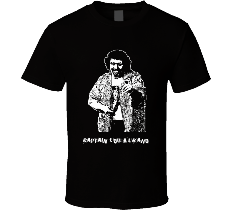 Captain Lou Albano Wrestlers T Shirt