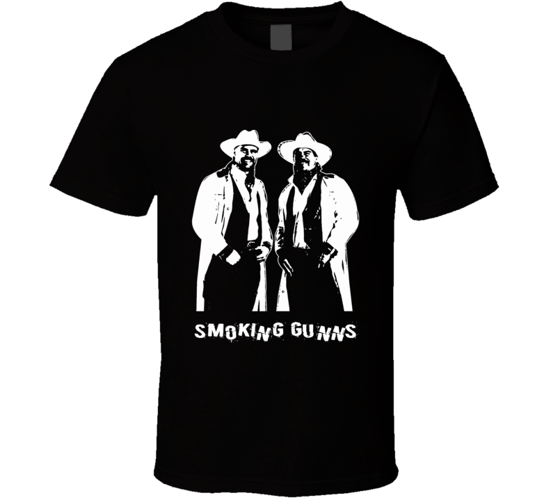 Smoking Gunns Retro Wrestling Tag Team Legends T Shirt