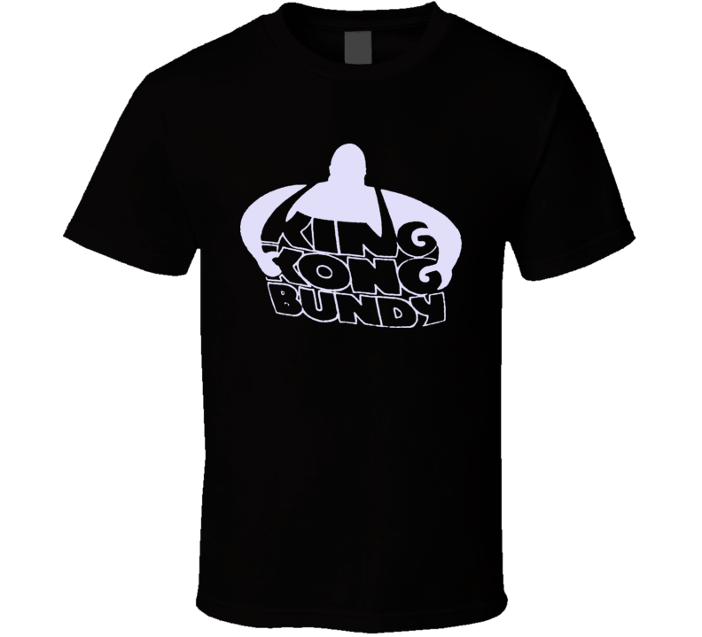 King Kong Bundy Retro Wrestling T Shirt