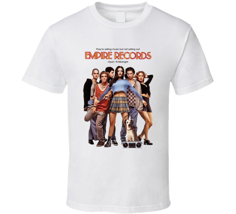 Empire Records Retro 90's Comedy Movie T Shirt