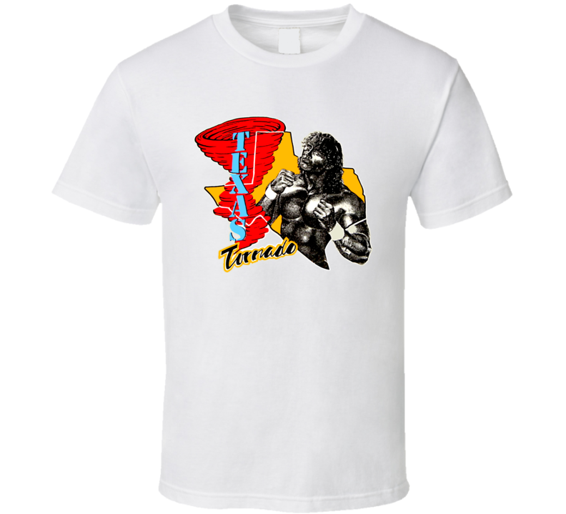 Texas Tornado Retro Wrestling T Shirt