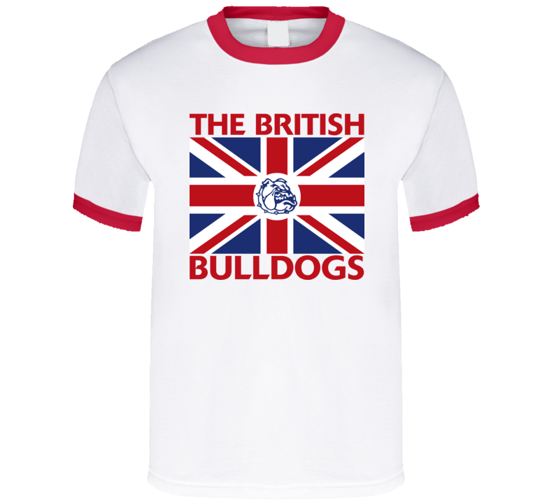 The British Bulldogs Retro Wrestling T Shirt