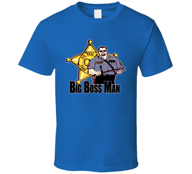 Big Boss Man Retro Wrestling T Shirt