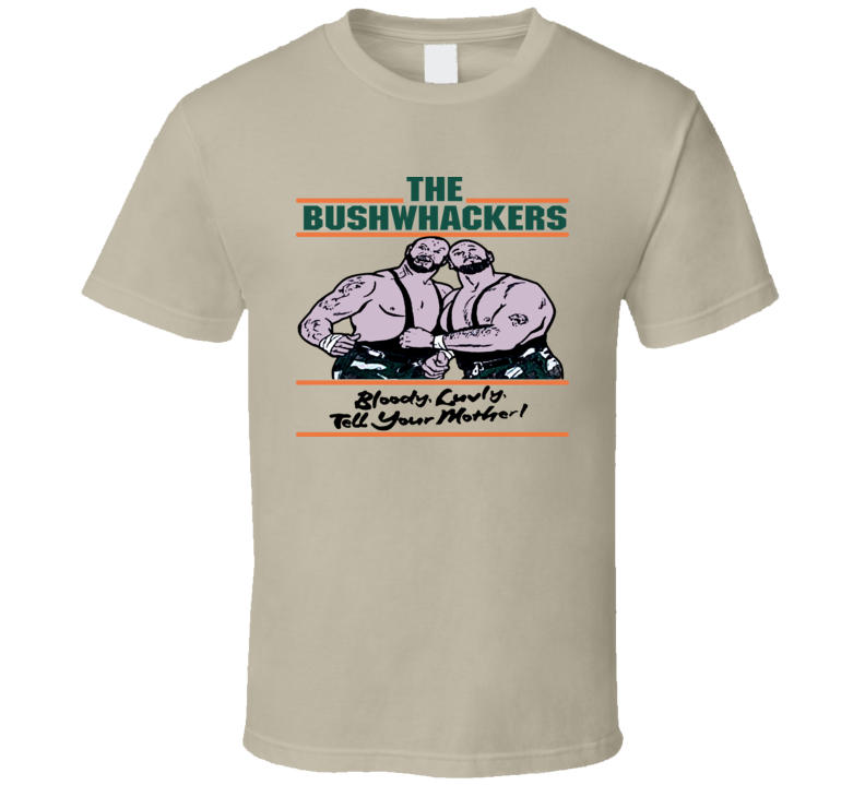 The Bushwhackers Retro Wrestling T Shirt