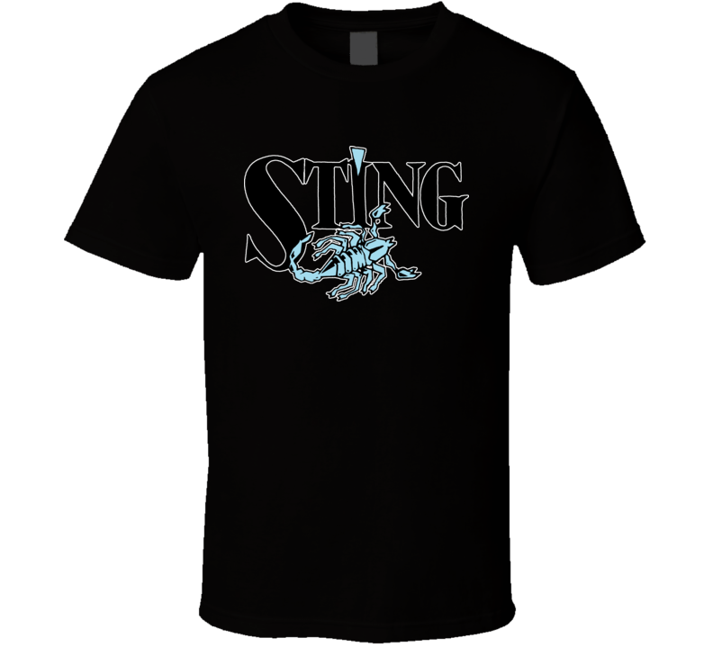 Sting Wcw Scorpion Retro Wrestling T Shirt