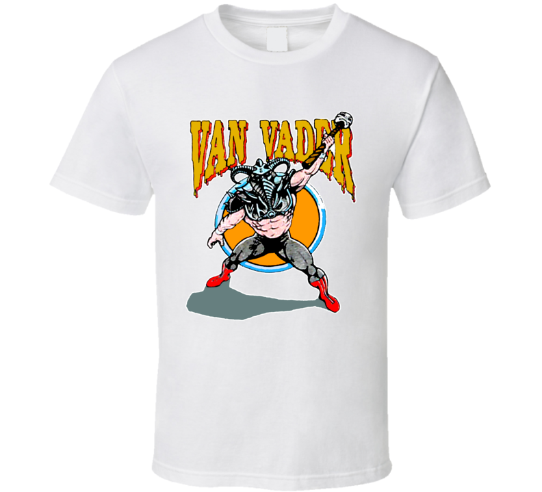 Van Vader Wcw Retro Wrestling T Shirt