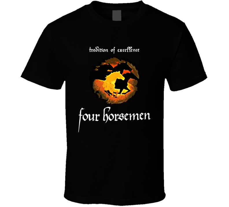 Four Horsemen Retro Wcw Wrestling T Shirt