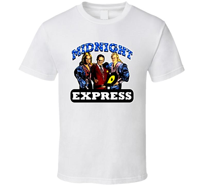 Midnight Express Retro Wrestling T Shirt