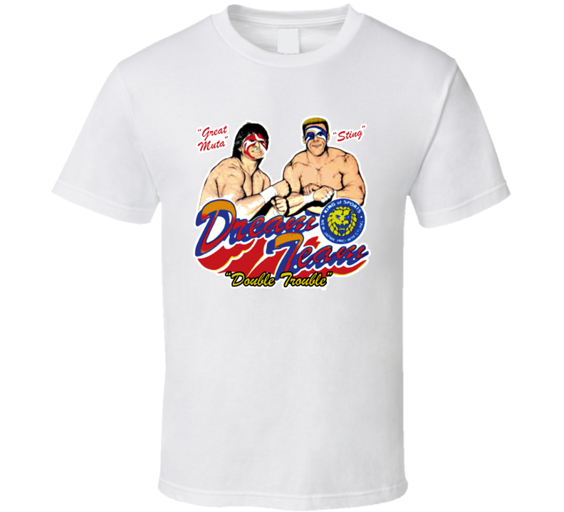 Sting and Great Muta Retro Wcw Wrestling T Shirt