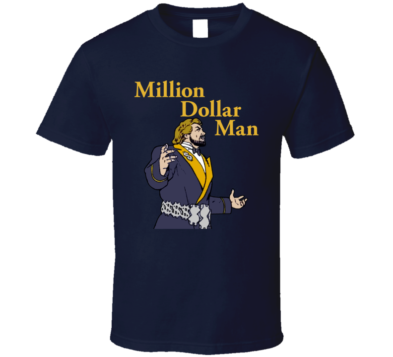 Million Dollar Man Ted Dibiase Retro Wrestling T Shirt