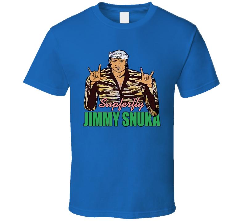 Jimmy Superfly Snuka Wrestling T Shirt