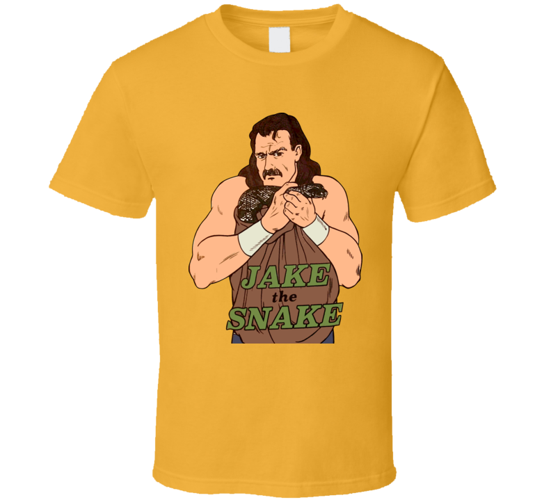 Jake The Snake Roberts Retro Wrestling T Shirt