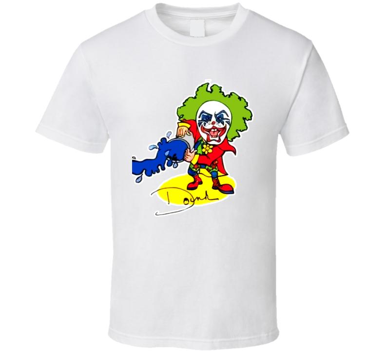 Doink The Clown Retro Wrestling T Shirt