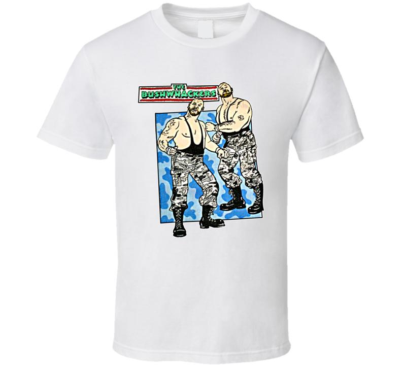 The Bushwhackers Retro Wrestling T Shirt