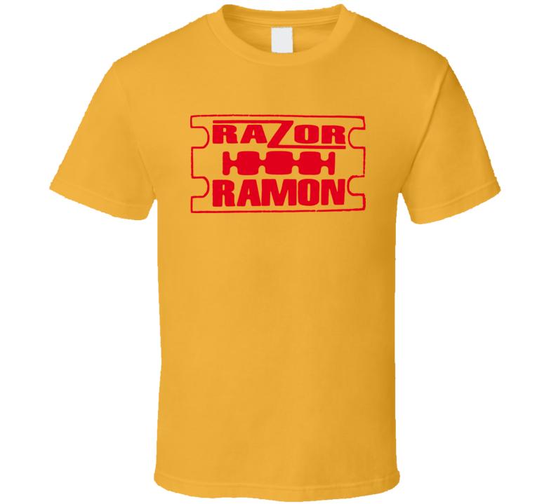 Razor Ramon Retro Wrestling T Shirt