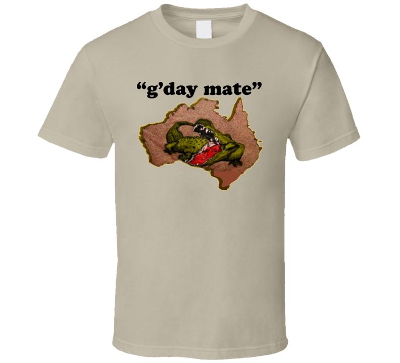 Outback Jack Retro Wrestling T Shirt