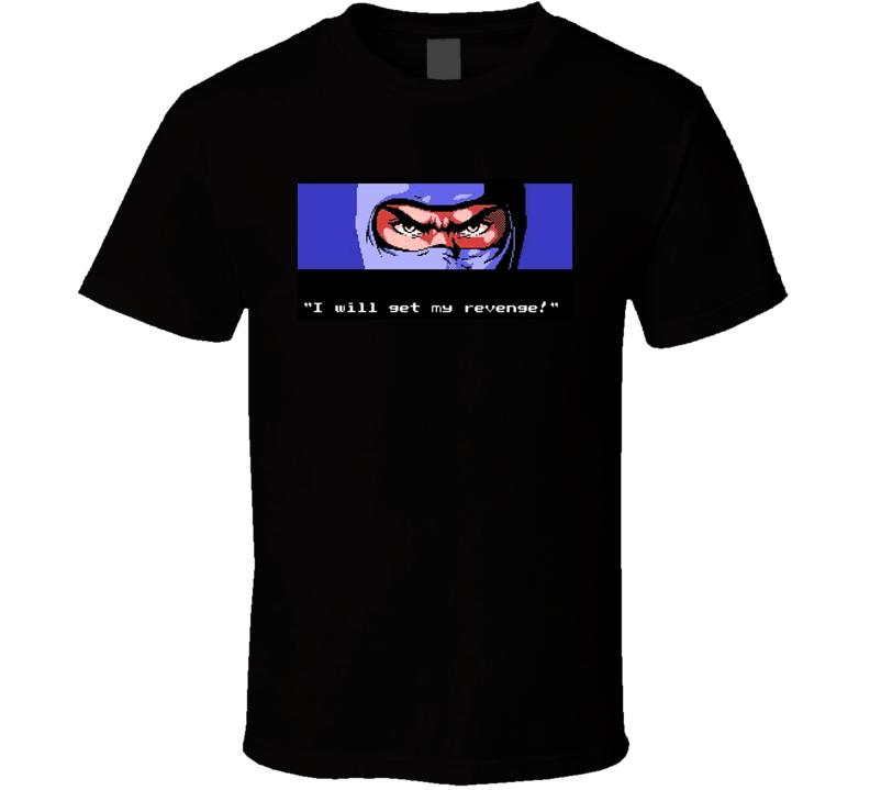 Ryu Hayabusa Classic Ninja Gaiden T Shirt