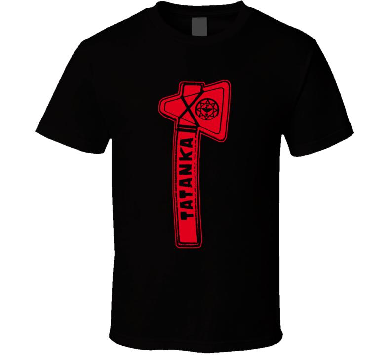 Tatanka Retro Wrestling T Shirt