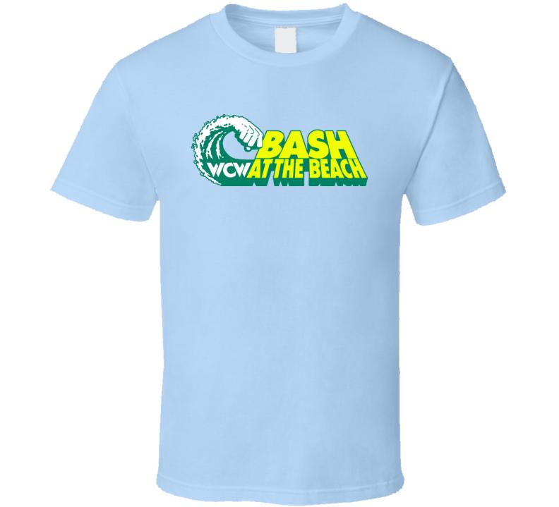 Wcw Bash At The Beach Retro Wrestling T Shirt