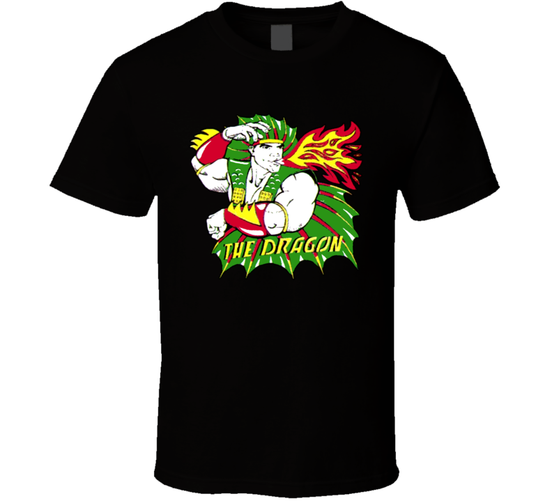 Ricky The Dragon Steamboat Wrestling T Shirt