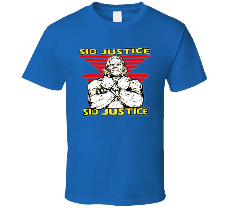 Sid Justice Retro Wrestling T Shirt