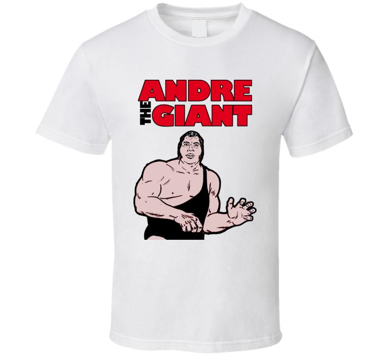 Andre The Giant Wrestling T Shirt