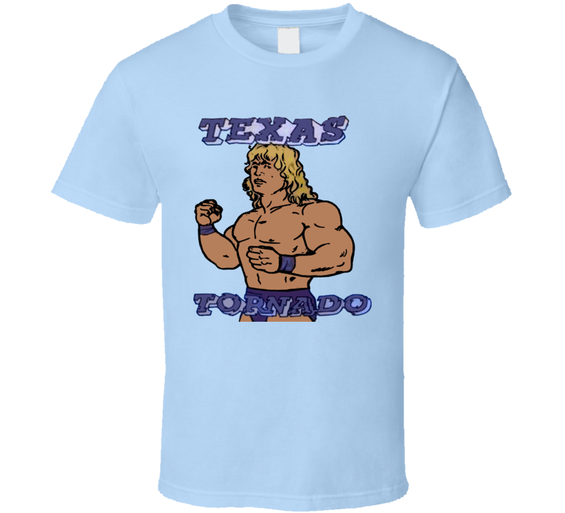 Texas Tornado Retro Wrestling T Shirt