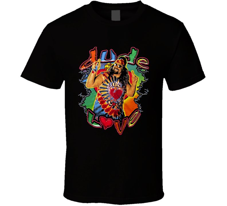 Mick Foley Dude Love Retro Wrestling T Shirt