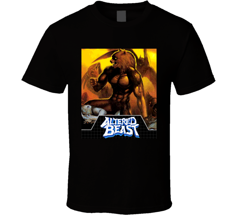 Altered Beast Retro Sega Video Game T Shirt