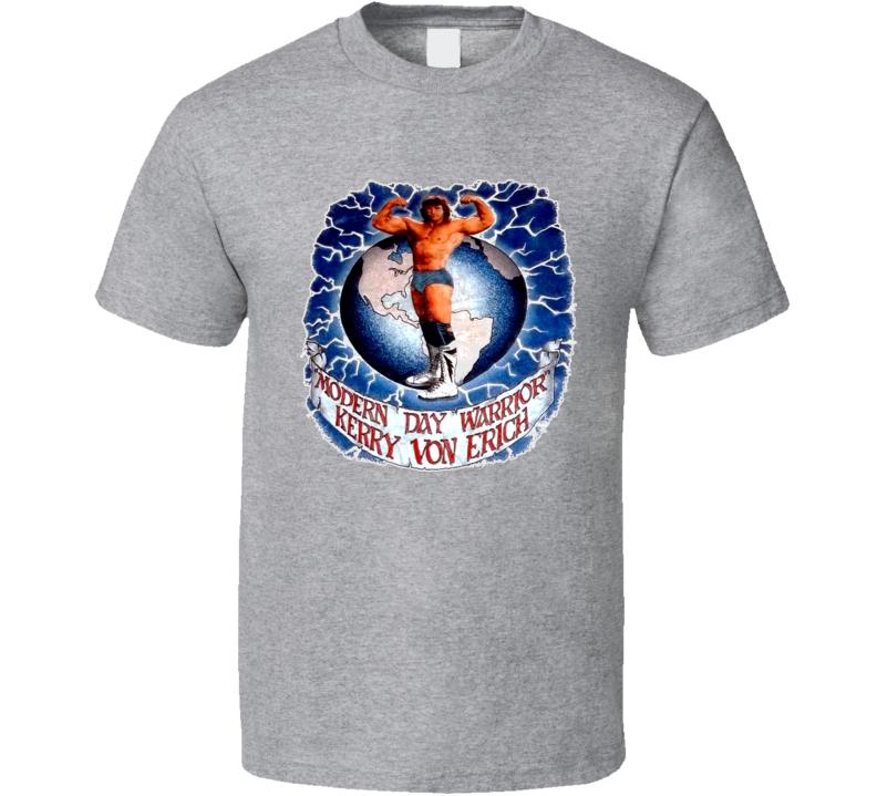 Kerry Von Erich Wcw Retro Wrestling T Shirt