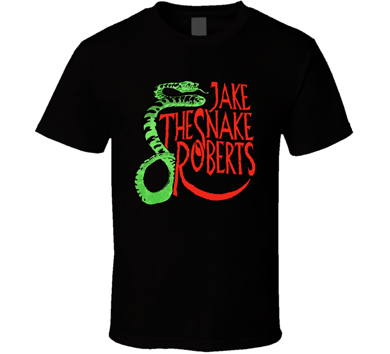 Jake The Snake Roberts Classic Wrestling T Shirt