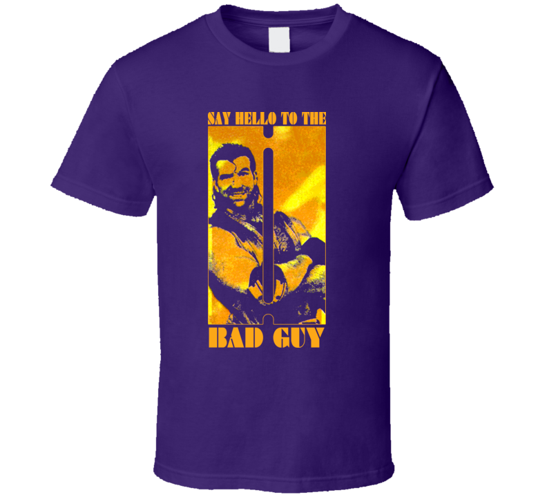 Razor Ramon Bad Guy Retro Wrestling T Shirt