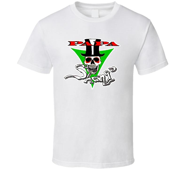 Papa Shango Retro Wrestling T Shirt