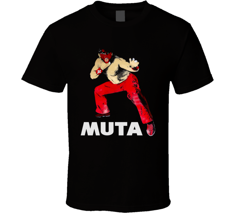 The Great Muta WCW Wrestling T Shirt