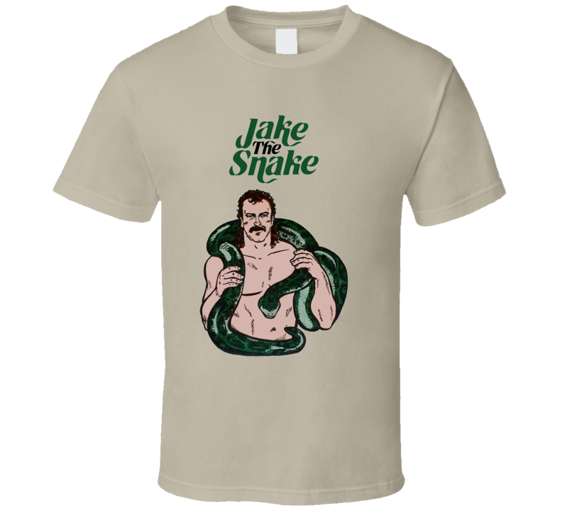 Jake The Snake Robert 80s Wrestling T Shirt