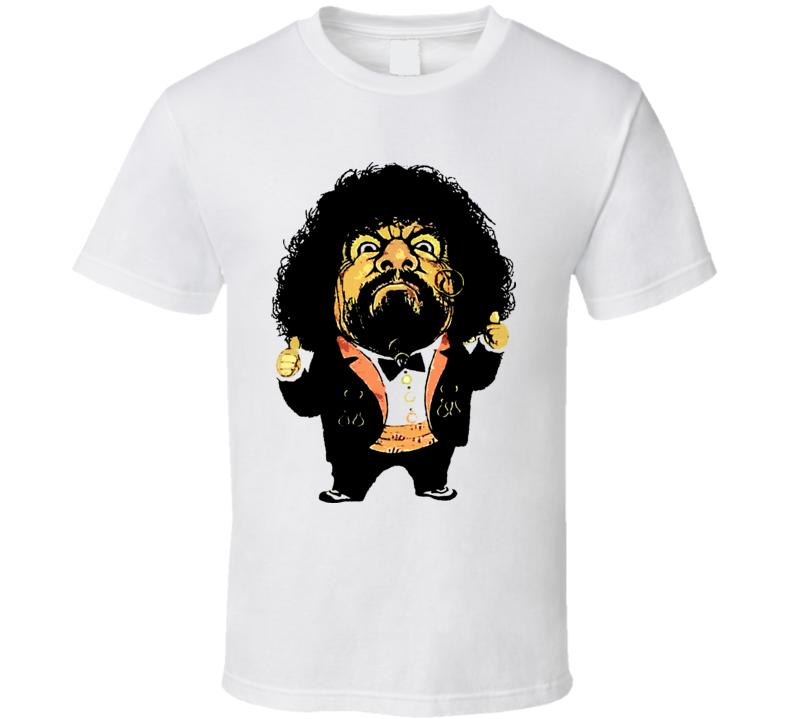 Captain Lou Albano 1980S Wrestling T Shirt