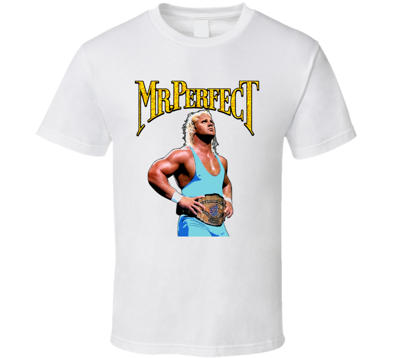 Mr Perfect Wrestling Legend Classic T Shirt