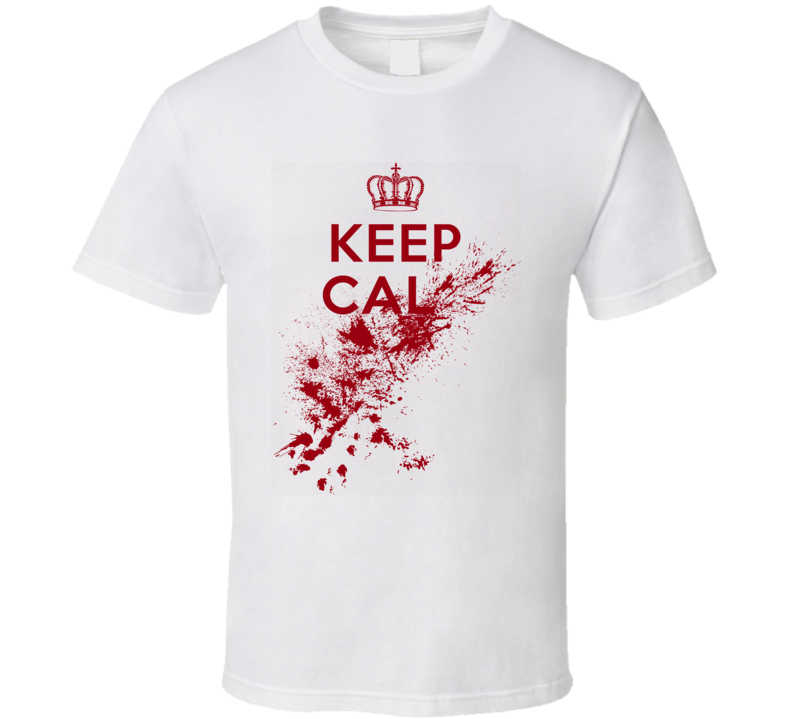 Keep Calm Funny Sarcastic Red Graphicst Shirt