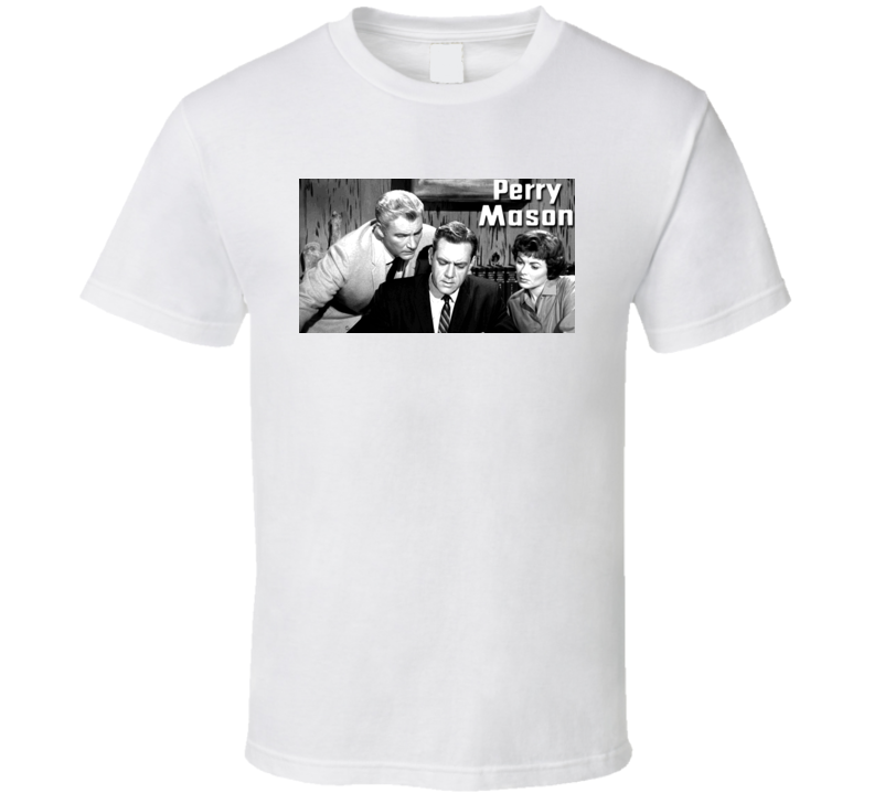 Perry Mason Classic TV Show T Shirt