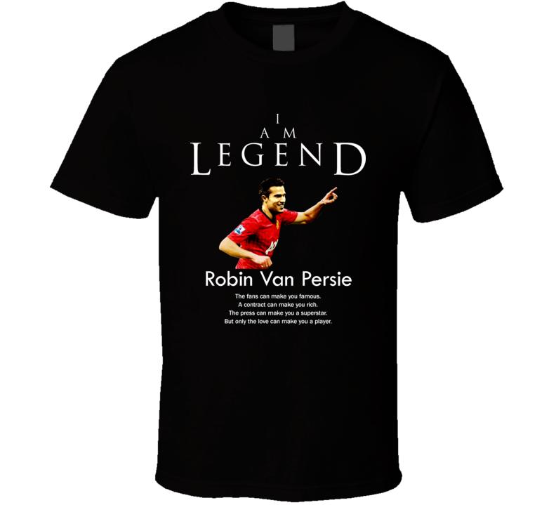Robin Van Persie The Netherlands Legend Soccer Futbol T Shirt