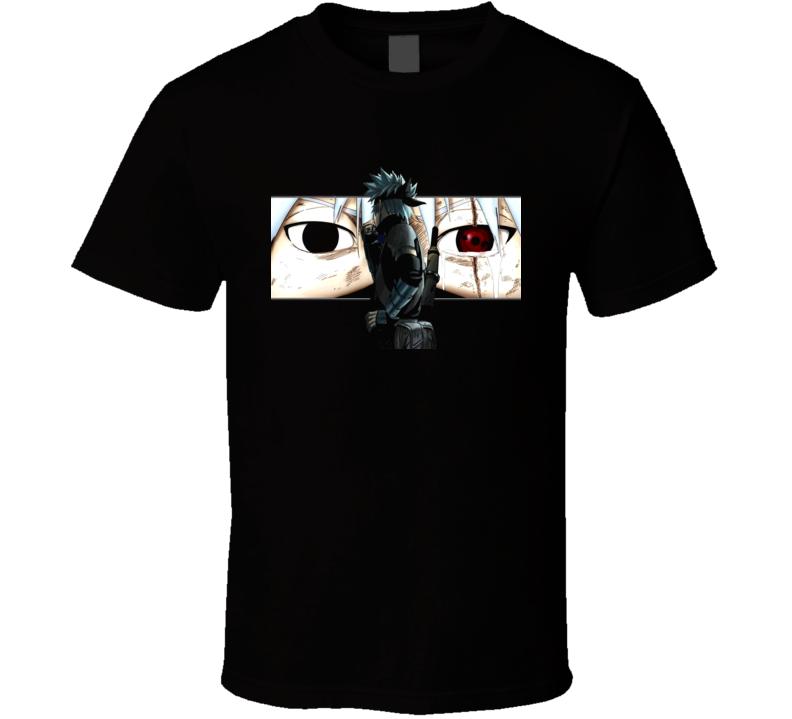 Naruto Hatake Sharingan Kakashi Retro T Shirt