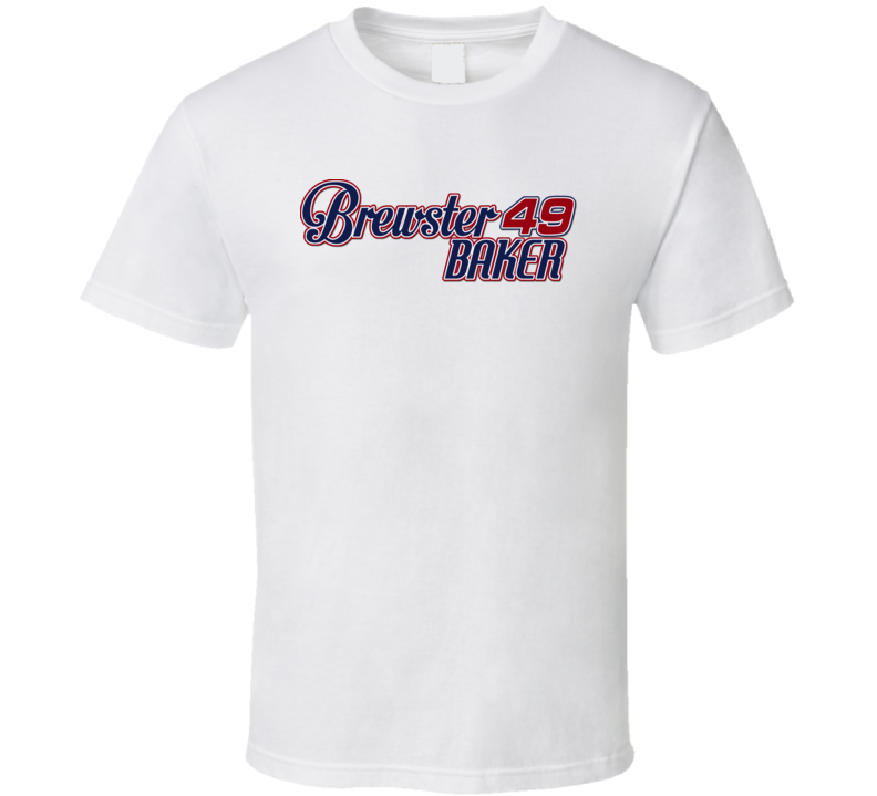 Brewster Baker Six 6 Pack Movie Kenny Rogers T Shirt