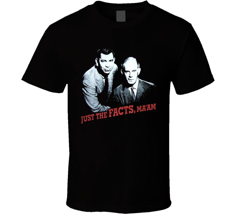 Dragnet Classic Retro TV Series T Shirt