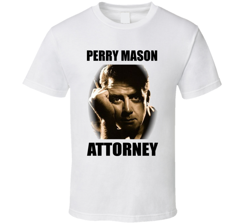 Perry Mason Attorney At Law T Shirt